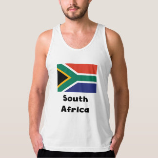 South African Flag Tank Top