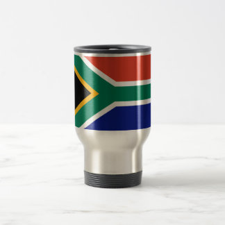 South African Flag Travel Mug