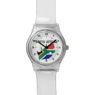 South African flag Watch