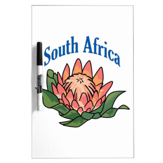 South African Flower Dry Erase Boards