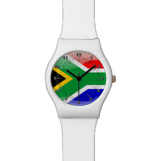 South African glossy flag Watch