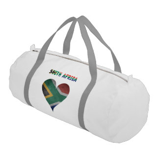 South African heart Gym Bag