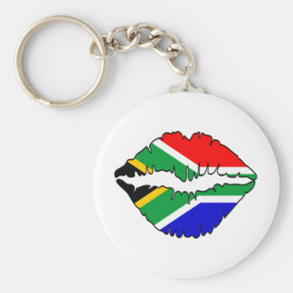South African Kiss Theme Keychain