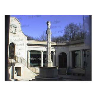 South African Memorial Delville Wood, Somme Postcard