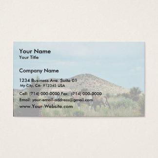 South African Oryx (Gemsbok) Business Card