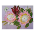South African Proteas Thank You Postcard