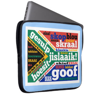 South African slang and colloquialisms Laptop Sleeves