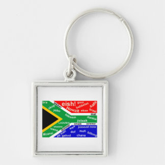 South African Slang Key Chain - Customizable
