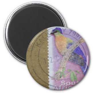 South African Stamp Magnet
