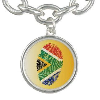 South African touch fingerprint flag Bracelet