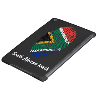 South African touch fingerprint flag Cover For iPad Air