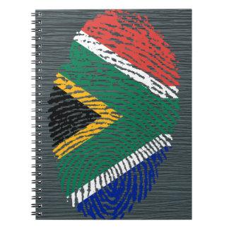 South African touch fingerprint flag Notebook