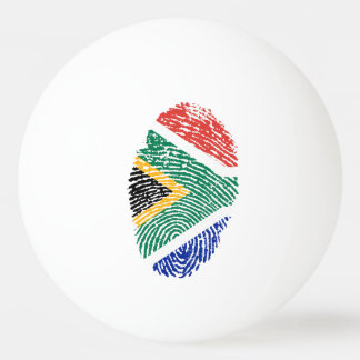 South African touch fingerprint flag Ping Pong Ball