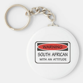South African With An Attitude Keychain