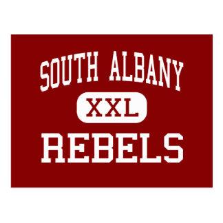 South Albany - Rebels - High - Albany Oregon Postcard