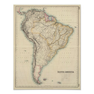 South America 18 Poster