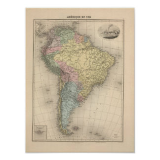 South America 28 Poster