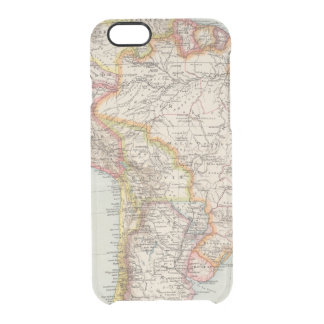 South America 2 Clear iPhone 6/6S Case