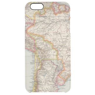 South America 2 Clear iPhone 6 Plus Case