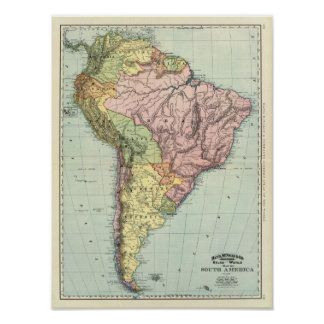 South America 36 Poster