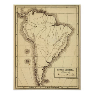 South America 3 Poster
