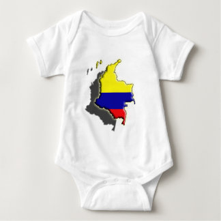 South America: Colombia Baby Bodysuit