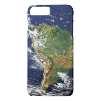 South America from Space - Satellite Image iPhone 7 Plus Case