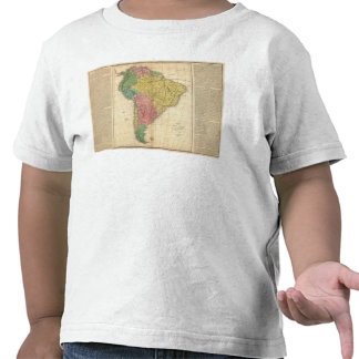 South America History Map Tees