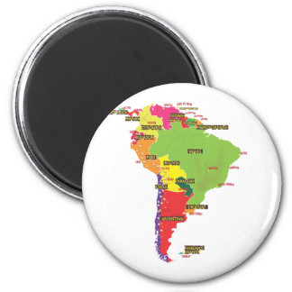 South America Magnet