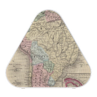South America Map by Mitchell Speaker