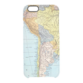 SOUTH AMERICA: MAP, c1890 Clear iPhone 6/6S Case