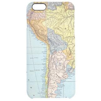SOUTH AMERICA: MAP, c1890 Clear iPhone 6 Plus Case