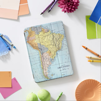 SOUTH AMERICA: MAP, c1890 iPad Air Cover