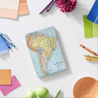 SOUTH AMERICA: MAP, c1890 iPad Mini Cover