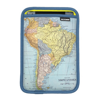 SOUTH AMERICA: MAP, c1890 iPad Mini Sleeves
