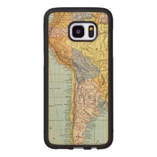 SOUTH AMERICA: MAP, c1890 Wood Samsung Galaxy S7 Edge Case