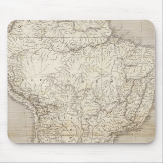 South America map Mouse Pad