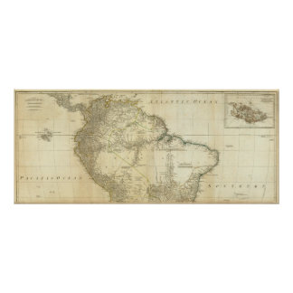 South America Northern Section Poster
