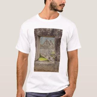 South America, Peru, Machu Picchu. Two tourists T-Shirt