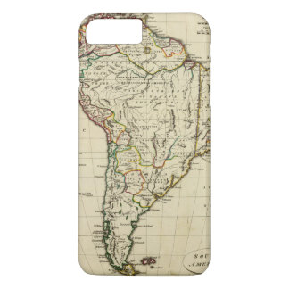 South America with boundaries outlined iPhone 7 Plus Case