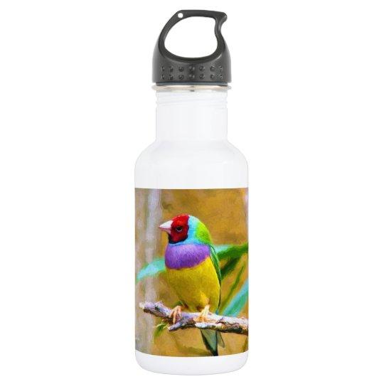 South American Finch 532 Ml Water Bottle