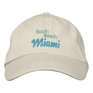 SOUTH BEACH 1 cap Embroidered Hat