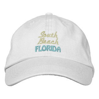 SOUTH BEACH 5 cap Embroidered Baseball Caps