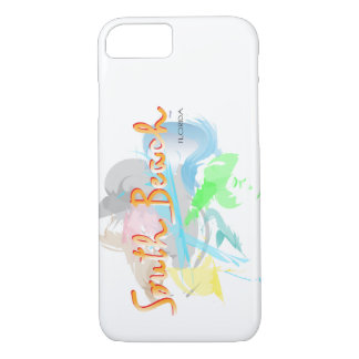 South Beach, Florida Abstract i PhoneCase iPhone 7 Case
