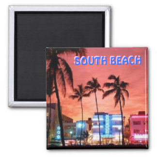 SOUTH Beach, Florida Magnet