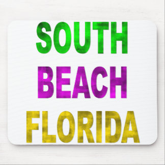 South Beach Florida Mouse Pad