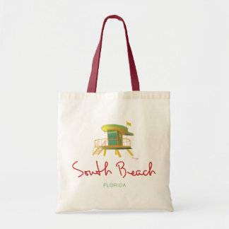 South Beach Lifeguard Station Tote Bag