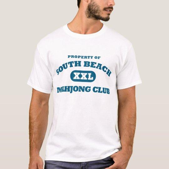 South Beach Mahjong Club shirt
