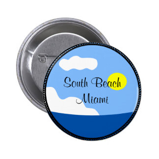South Beach Miami button