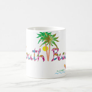 South Beach Miami Flip Flops II Coffee Mug